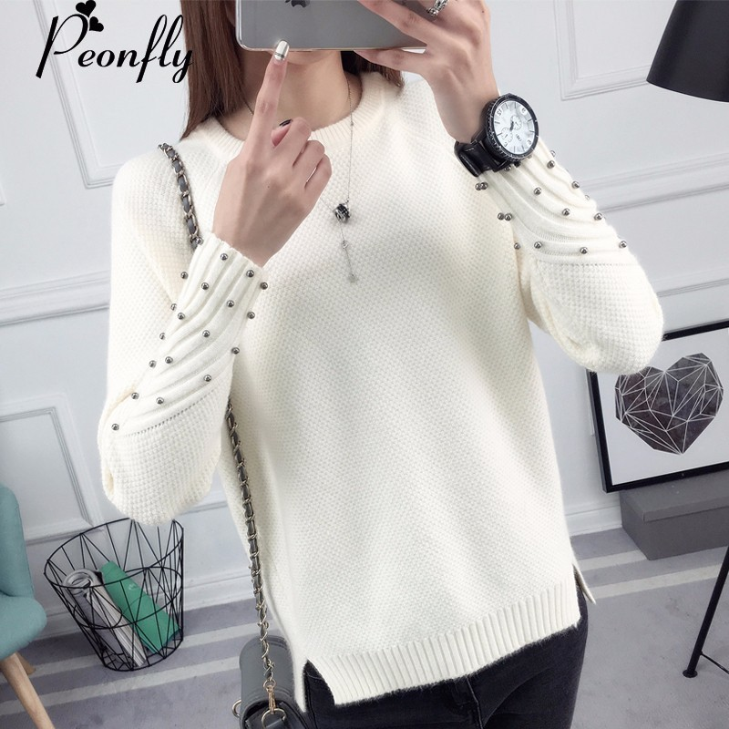 peonfly thick warm winter sweater women 2017 knitted. Black Bedroom Furniture Sets. Home Design Ideas