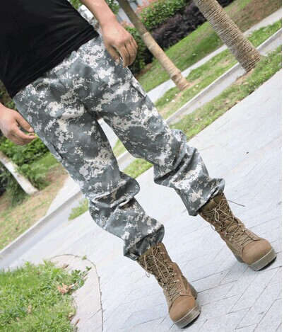 American urban camouflage BDU version for training casual pants men tactical camouflage pants