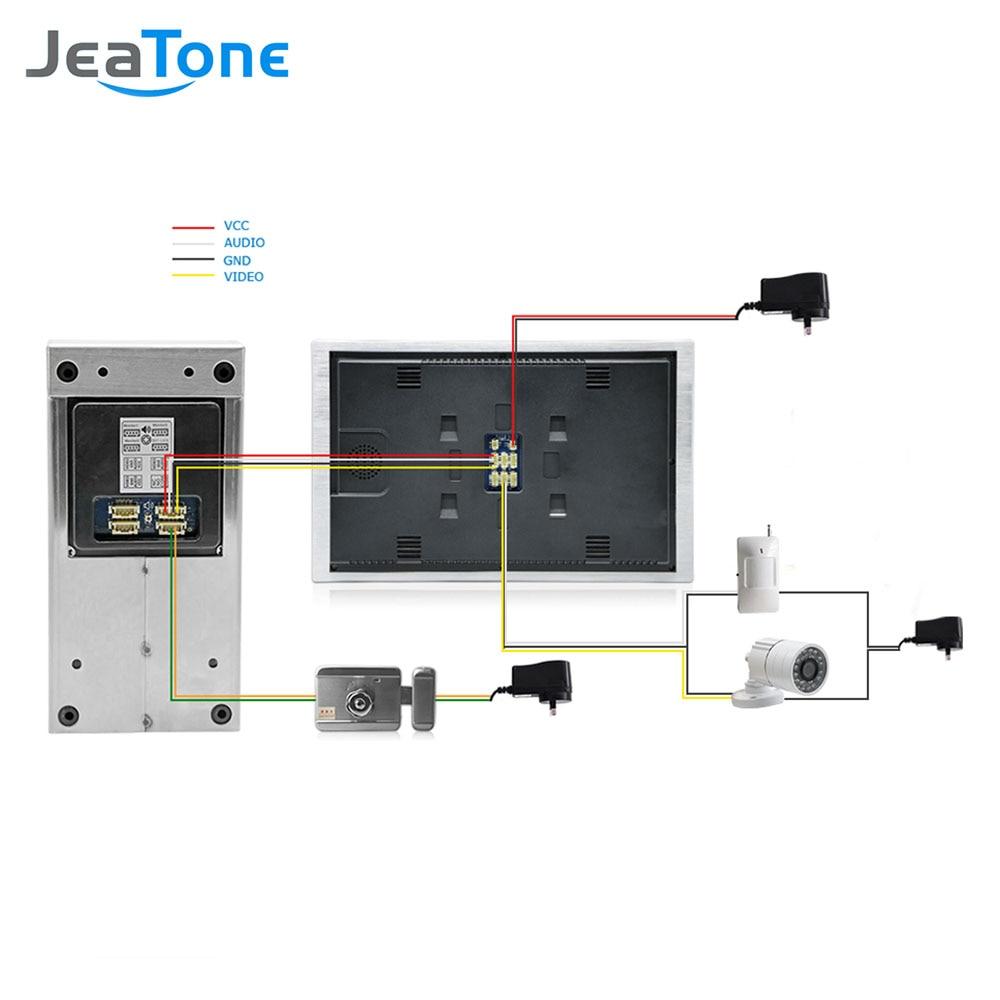 Видеодомофон JeaTone для домашней - Безопасность и защита - Фотография 6