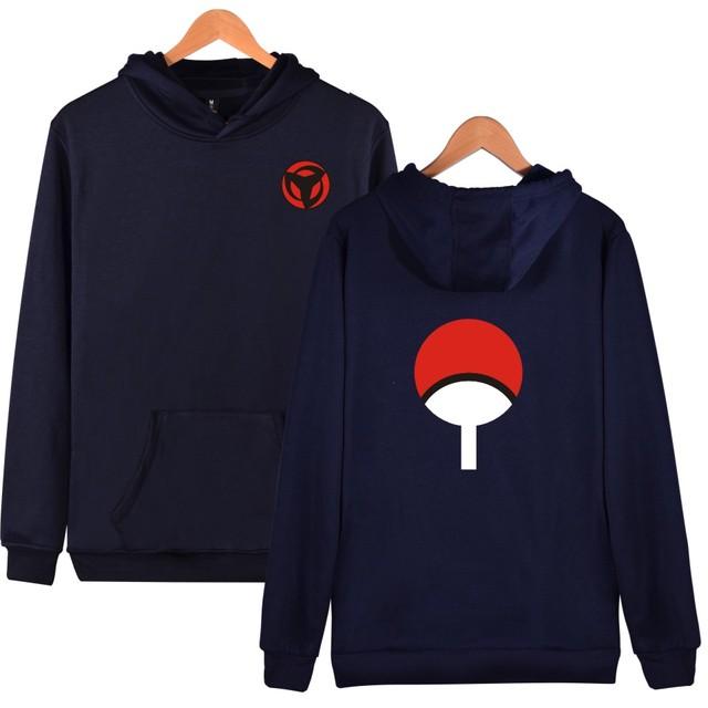 Naruto Uchiha Sharingan Sudadera (5 Colores)