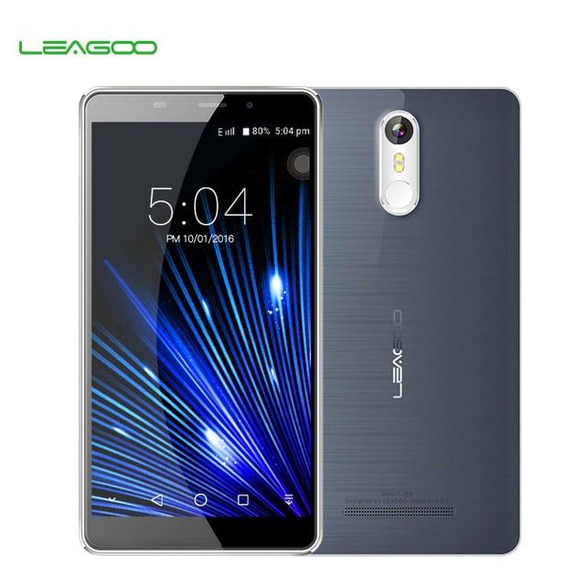 """Leagoo M8 Smartphone 5.7""""HD IPS Android 6.0 MT6580A Quad Core 2GB RAM 16GB ROM 3500mAh Battery 13.0 MP Fingerprint Phone"""
