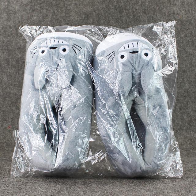 My Neighbor Totoro – Totoro Warm Plush Indoor Slippers