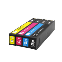 4PK compatible hp 913a ink cartridge for hp PageWide 352dw/377dw 452dw/452dn/477dw/477dn/552dw/577dw printer|ink cartridge|ink cartridge for hpcartridge for hp -