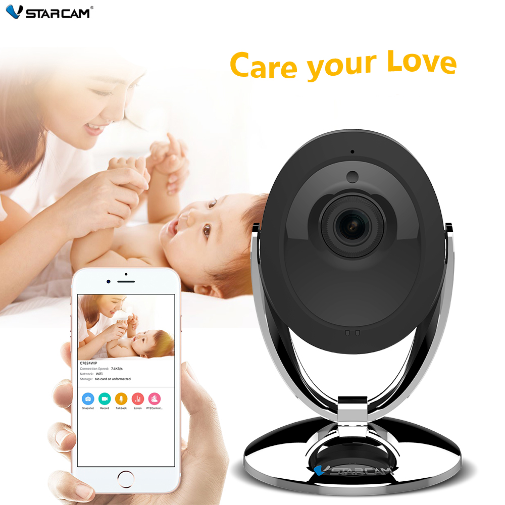 Original VStarcam Wifi IP Camera 720P Night Vision 2 Way Audio Wireless Motion Alarm Mini Smart Home Webcam Video Monitor