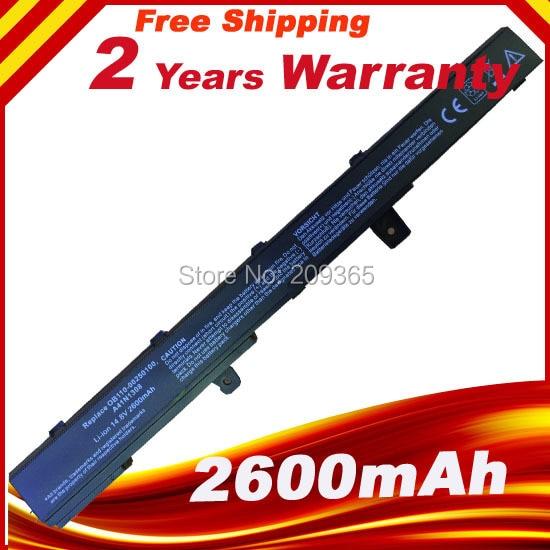 ლეპტოპის ბატარეა ASUS X551M X451C X451CA X551C X551CA A41N1308 A31N1319 0B110-00250100M