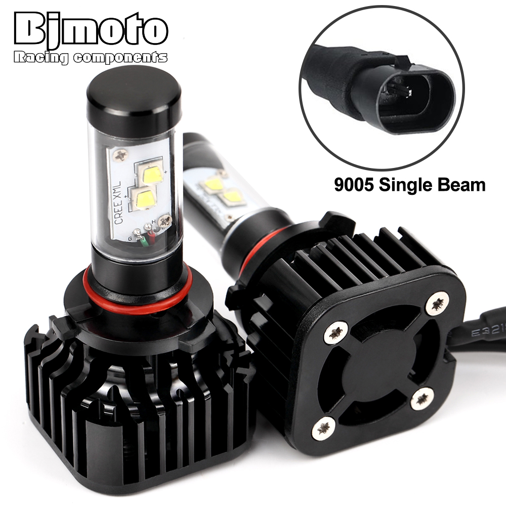 BJMOTO H4 H7 H13 H11 H15 9005 9006 LED Headlight 120W 12000LM 6000K All In One Car LED Headlights Bulb Head Lamp Fog Light