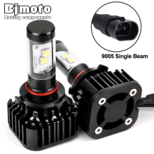 BJMOTO H4 H7 H13 H11 H15 9005 9006 LED Headlight 120W 12000LM 6000K All In One Car LED Headlights Bulb Head Lamp Fog Light