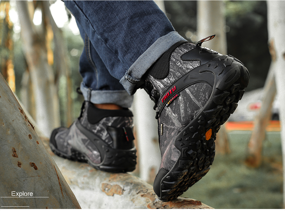 Outdoor Camouflage Tactical Sport Men\`s Shoes (12)