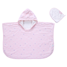 Baby Cap Bath Towel Double Gauze Good Air Permeability Soft Water Absorption Bamboo Fiber Towel Cloth Baby Cap Bath Towel lx 9009 cozy fiber bath towel shower cap deep pink