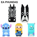 Fundas Capas case conque For ASUS Zenfone 5 3D anime Cartoon Anime Stitch Minions case M&M sulley Dog Bulldog cover Zebra Cover