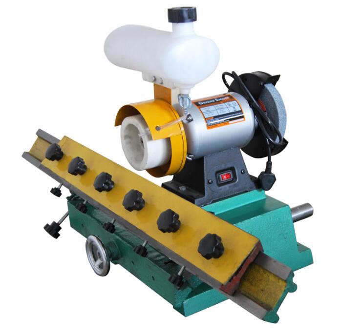 Деревообработка Прямые ножи точилка скамейка станок торцевой шлифовки прямой лезвие для обработки древесины шлифовальные станки 220 В 0.56KW