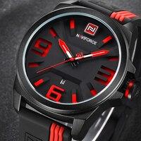 2017 NEW NAVIFORCE Watches Men Luxury Brand Sport Quartz Watch Men S 3D Face Waterproof Man