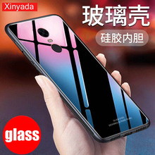 Tempered Glass Cover For xiaomi Redmi Note 4 4X Note4 Note4X Case soft Silicone edge Shell