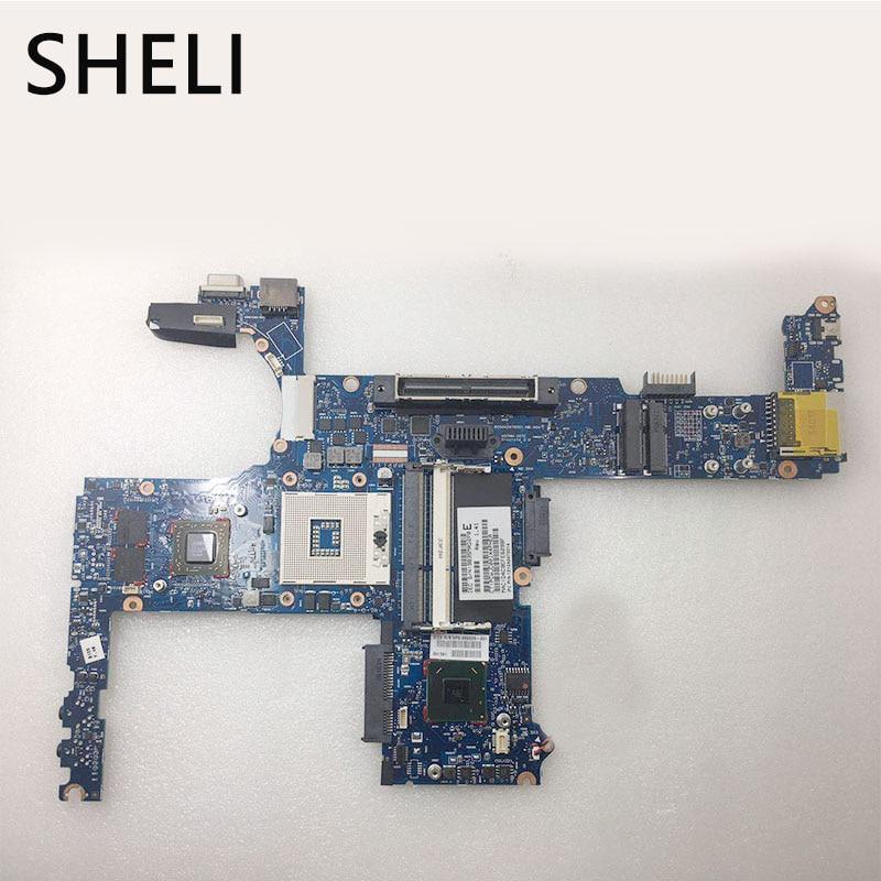 SHELI PER HP 6470B 686039-001 686039-601 scheda di sistema mainboard Completamente ProvatoSHELI PER HP 6470B 686039-001 686039-601 scheda di sistema mainboard Completamente Provato