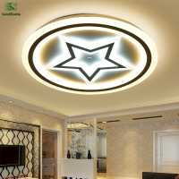 Modern Simple Star Design Led Ceiling Lights Lamparas Acrylic Metal Bedroom Led Ceiling Light Luminarias Ceiling