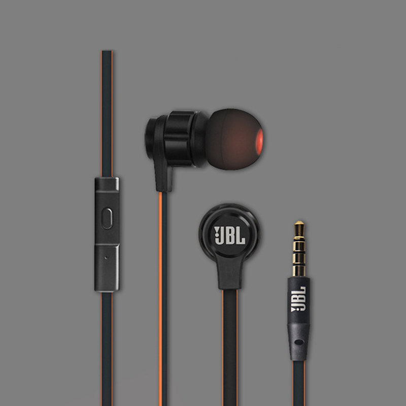 Original JBL T180A Fashion Best Bass Stereo Earphone For Android iOS mobile phone in ear Earbuds Headsets With Mic Earphones цена