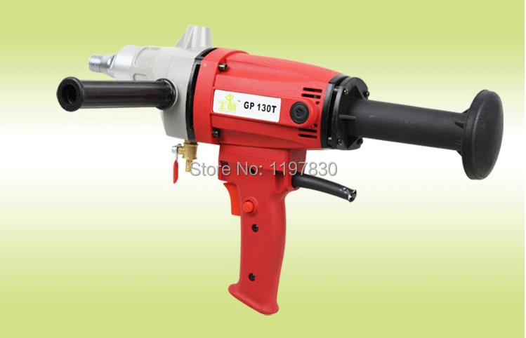 Promotion sale of  1 SET GP130T economic Handheld water diamond core drilling machine air conditioner hole drilling machine abhaya kumar naik socio economic impact of industrialisation