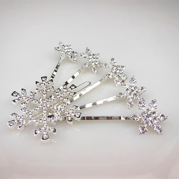 120 Pcs 2015 New Gorgeous Anime Snowflake Style Girl Princess Snow