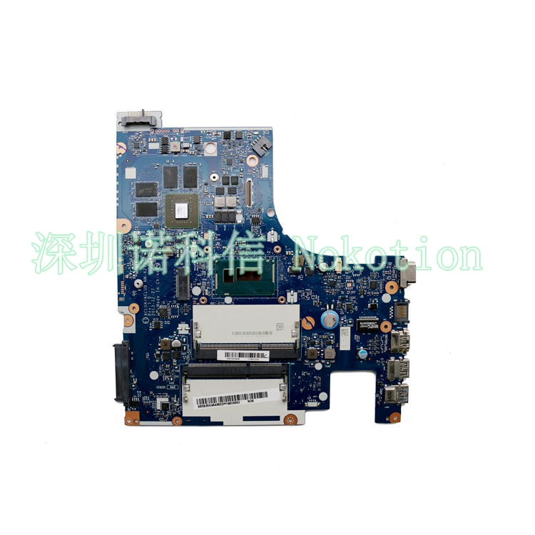 NOKOTION ACLUA/ACLUB NM-A273 Laptop <font><b>Motherboard</b></font> for <font><b>Lenovo</b></font> <font><b>Z50</b></font>-<font><b>70</b></font> SR1EB I7-4510U DDR3L 820M 2GB Mainboard Works image