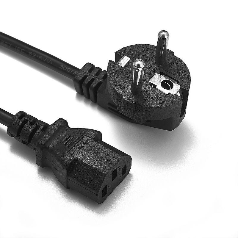EU AU US UK Power Cable Euro European American British Australia Australian IEC C13 Power Supply Cord 1.2m 4ft For AC Adapters недорго, оригинальная цена