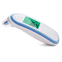 Infrared Digital Thermometer Medical Forehead and Ear for Baby Kids Adults with Fever Indicat