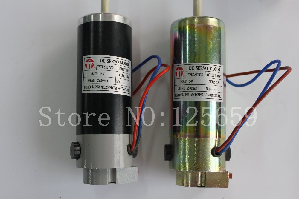 100% new and original Servo motor with sensor 55ZYTD51 printing machinery part dcs810 leadshine digital dc brush servo drive servo amplifier servo motor controller up to 80vdc 20a new original