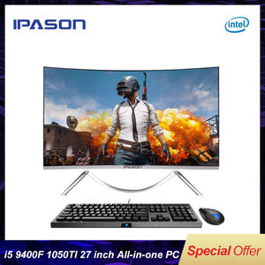 IPASON Graphics-Card Gaming Pc DDR4 Intel I5 9400f 1050ti SSD 4G No 27inch Non-Integrated