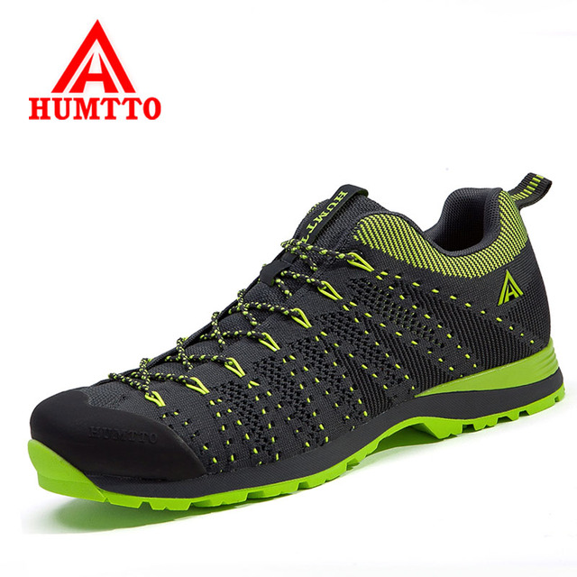 HUMTTO Men and Women Hiking Shoes Outdoor Sneakers Trekking Shoes Mountain Climbing Sports Shoes Wear Resistant Walking Shoes
