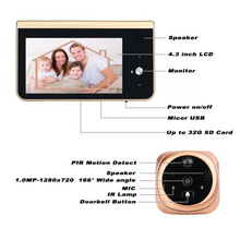 Doorbell Camera mirilla wifi Video Eyes Digital