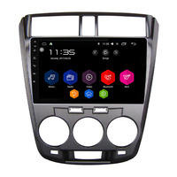 For Honda City 2008 2013 10 1 Inch All Touch Button Android 6 0 1 OS
