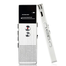 Style C6 8GB Audio Recorder Voice Tracker Portable Business Digital Voice Recorder Telephone Recording MP3 Player with 8GB Card