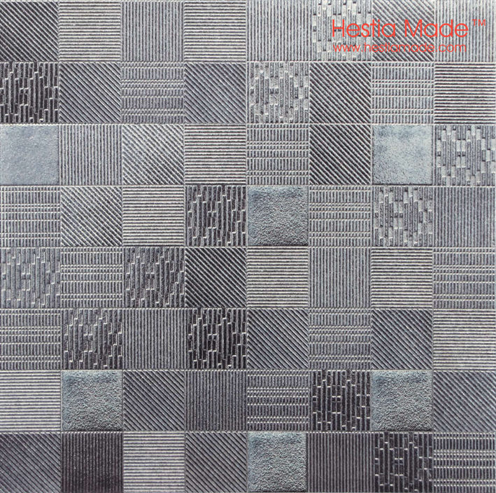 Hestia Made Modern Art Silver Grey Ceramic Mosaic Tile Bartop Bathroom Background Wall On Aliexpress Alibaba Group