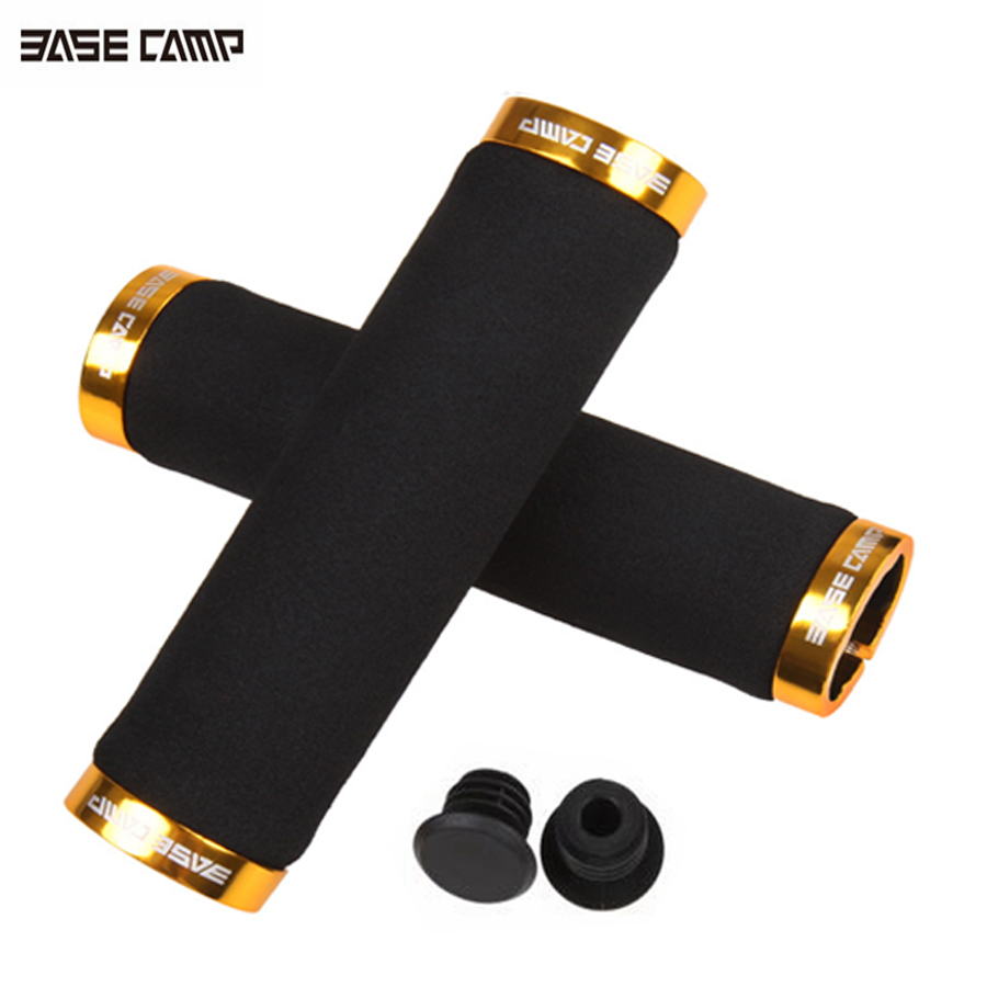 1Pair Mountain Bike Handlebar Cover Handle Protect Hand Grip Cycling Holder Gold