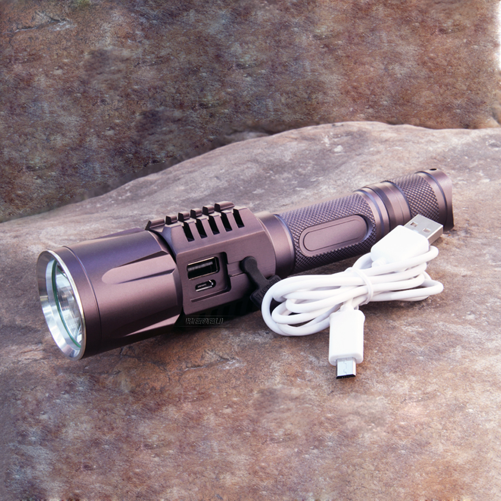 Rechargeable USB led flashlight cree xm l2 Lanterna High Power Torch 3800 lumen Flash light lantern Tactical bike light use18650 cree xm l2 flashlight 5000lm adjustable zoomable led xm l2 flashlight lamp light torch lantern rechargeable 18650 2chargers z30