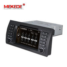 Lowest price +free map processor+free shipping car multimedia dvd  player for BMW/E39 X5 E53