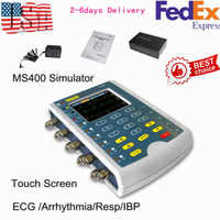 Fast Free Shipping CONTEC MS400 ECG Simulator Multi-Parameter Patient Simulator