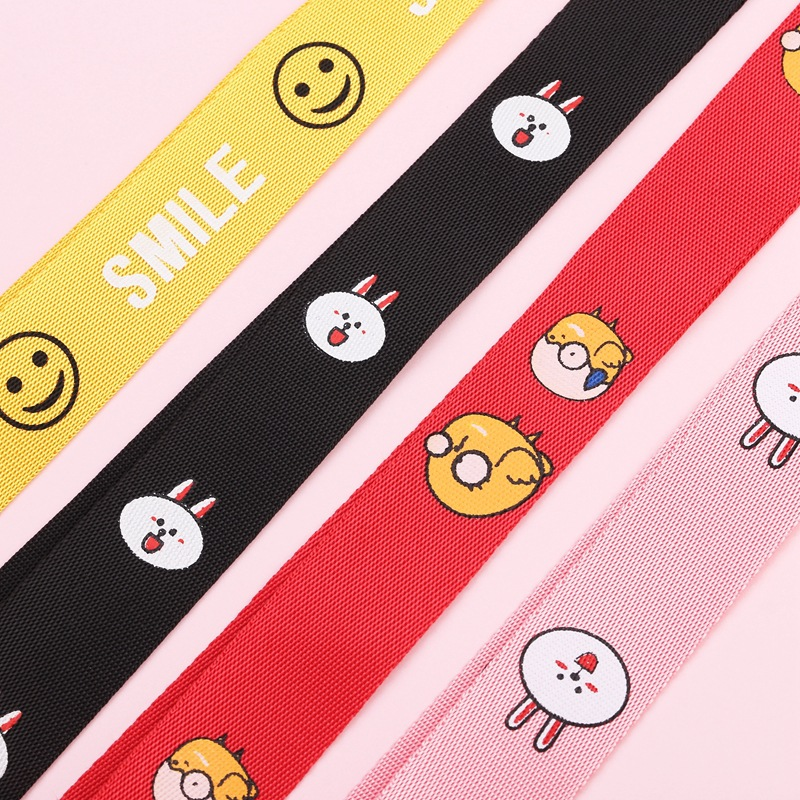 Image 3 - Multicolour Anime Cartoon Wrist Strap Hand Lanyard For ID Card  USB Mobile Phone Straps Detachable Multifunction Strap keychain-in Mobile Phone Straps from Cellphones & Telecommunications