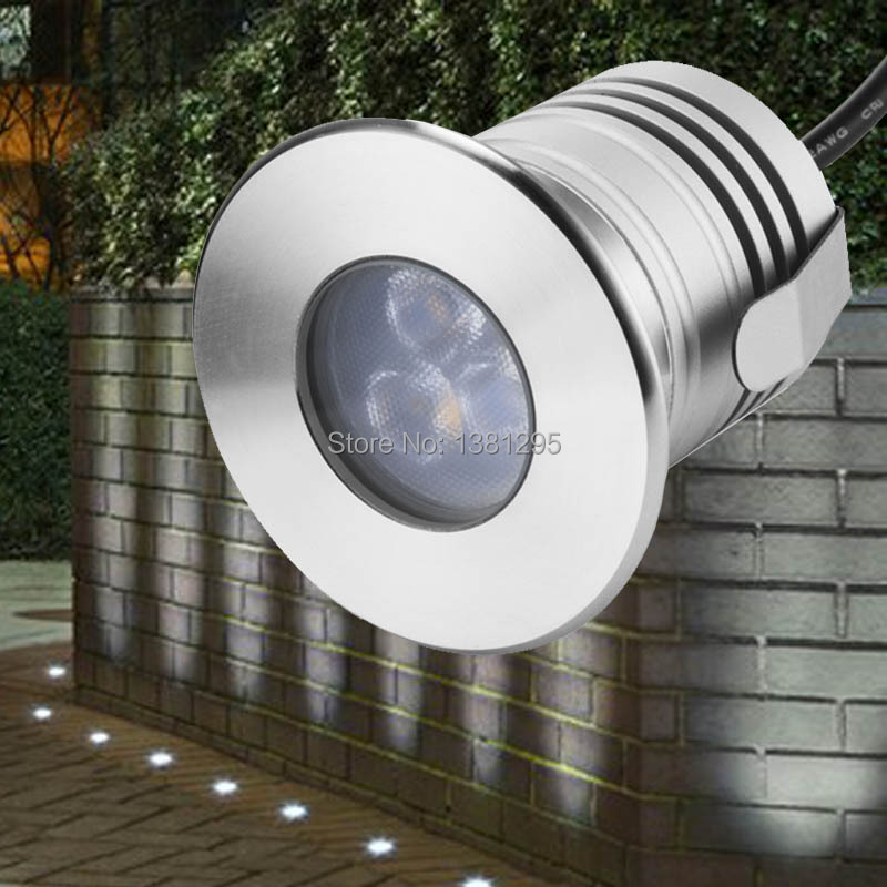 LED Underground Lamp 3W 12V IP68 Outdoor Recessed Deck Floor Ground Spot  Lighting Inground Uplight Driveway Concrete Paver Light In LED Underground  Lamps ...