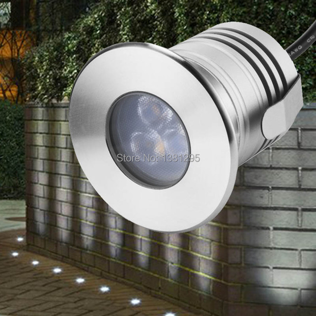 Led Underground Lamp 3w 12v Ip68 Outdoor Recessed Deck