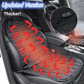 Car Heat Seat Cover,Electric Heating Cushion,Winter Warmer Pad accessories, Updated 12V Universal Car Covers Styling Thickening