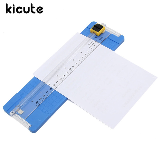 Kicute Modern A4 Precision Manual Paper Card Trimmers Cutter Cutting Blade Scrapbook Lightweight Cutting Machine Office Kit