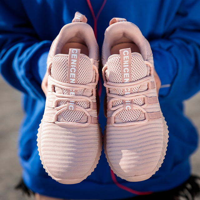 Sport Sneakers for Women Scarpe Donna Fly Knitting Breathable Shoes Woman High Quality Footwear Female Shoes Flats Dropshipping 5