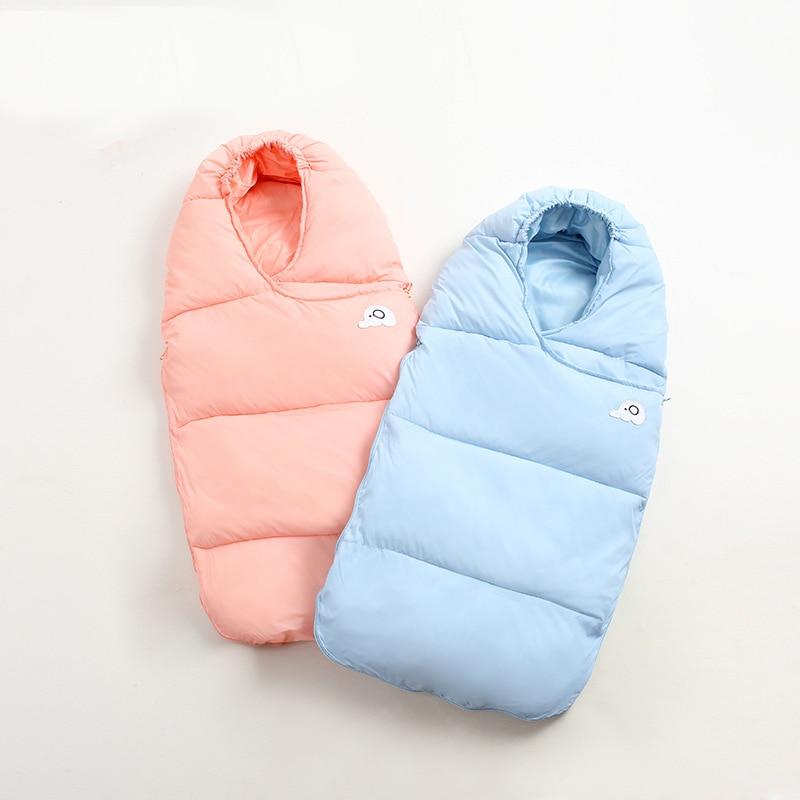 0 2 Years Baby Sleeping Bag Warm Newborn Thicken Envelopes For Baby Stroller Infant Blanket Winter Sleep Sack in Sleepsacks from Mother Kids