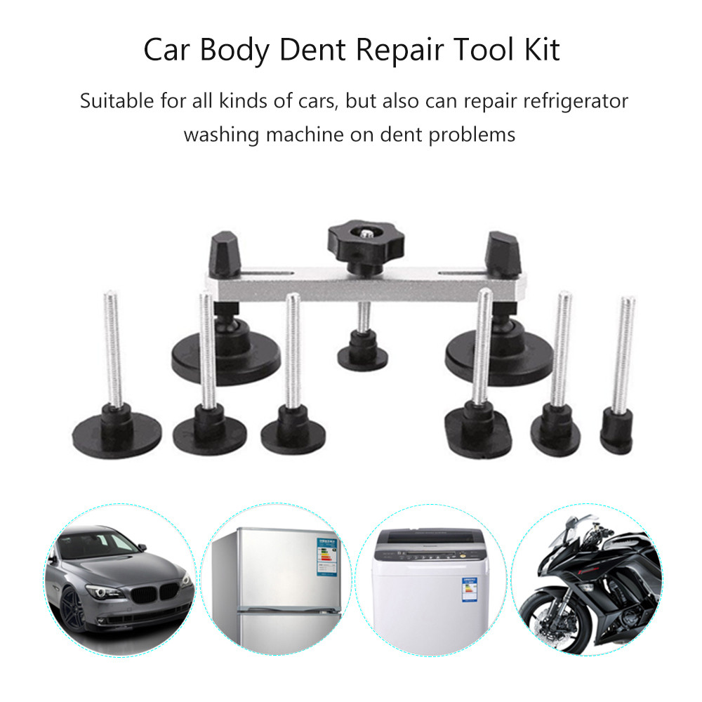 PDR Paintless Dent Repair Tools Dent Removal de dent puller tabs with hammer tap down Auto Repair Tool