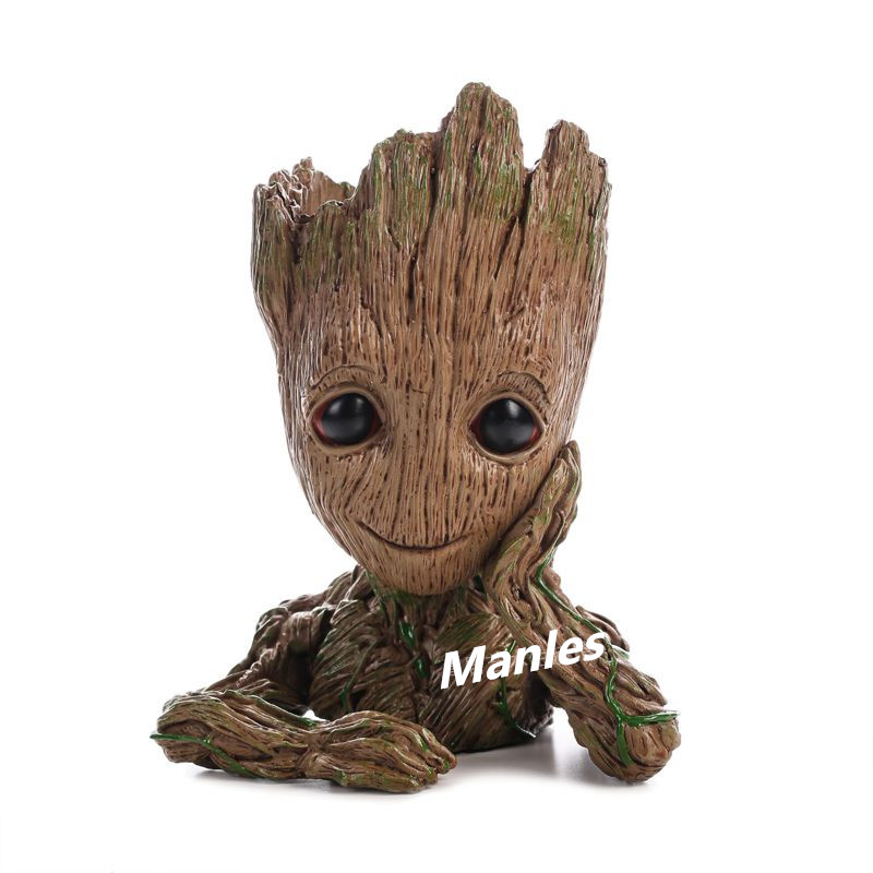 Flowerpot Action Figures Guardians of The Galaxy 2 Flowerpot Baby Action Figures Cute Model Pen Pot Gift For Kid Home Decoration