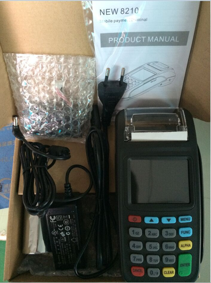 2.8inch Screen Mobile POS Payment Terminal GPRS version+Build-in Contactless Card Reader with intergrated printer