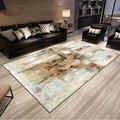 Роскошный абстрактный художественный ковер для спальни  диван  стол  напольный коврик  мягкие прямоугольные коврики