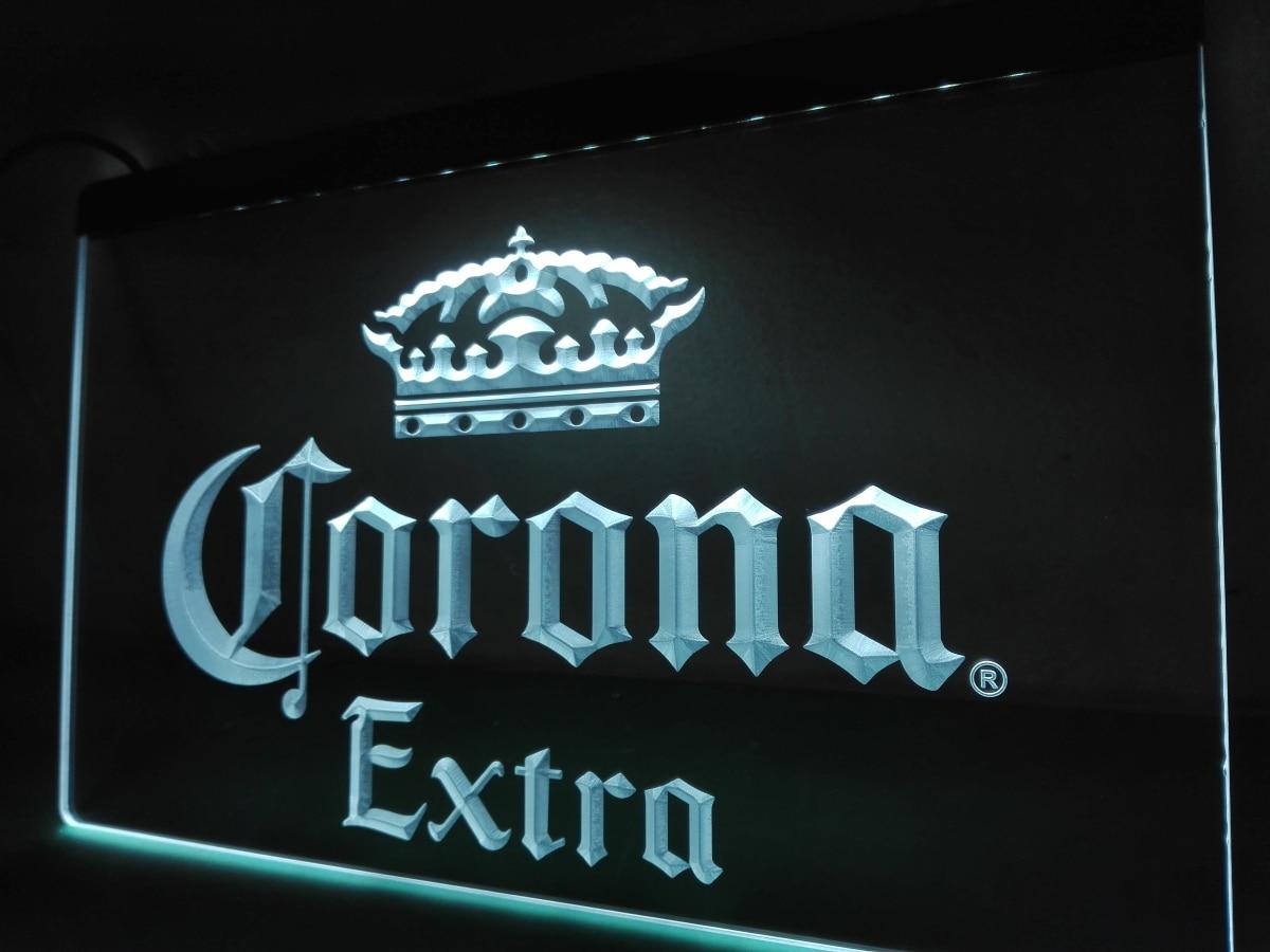 Le013 corona extra beer bar pub cafe led neon light sign en placas y le013 corona extra beer bar pub cafe led neon light sign en placas y signos de hogar y jardn en aliexpress alibaba group aloadofball Image collections