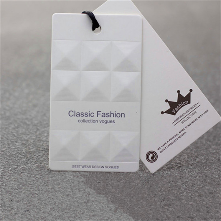 5526e6fbdf96 US $117.39 9% OFF|High grade customized garment clothes tags brand name  labels tags paper cardboard printing, printing luggage tags-in Garment Tags  ...
