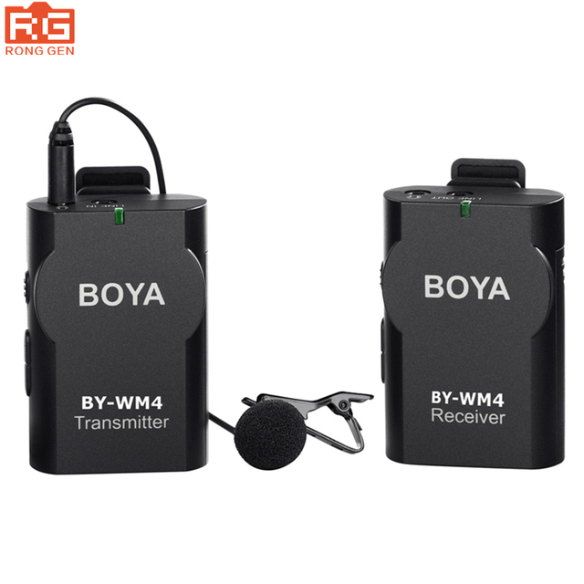Boya By Wm4 Wireless Capacitive Microphone For Smart Phone Tablet